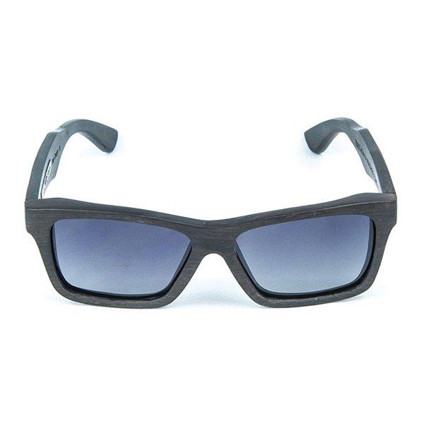 Óculos de Sol Polarizado em Madeira Samara Zabô Ebano