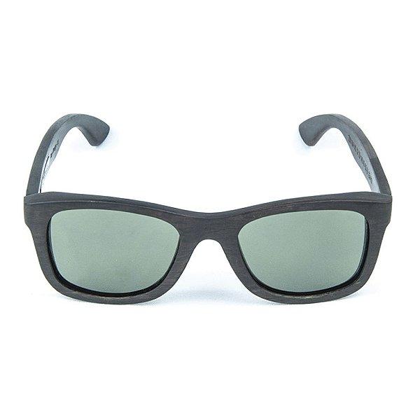 Óculos de Sol Polarizado em Madeira Ebano Zabô Sarov