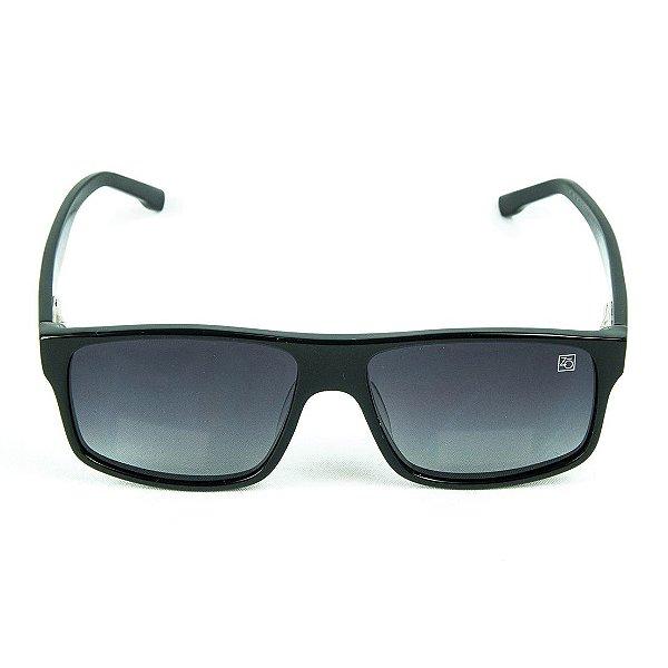 Óculos de Sol Polarizado Zabô Elbrus Preto Sol Degradê