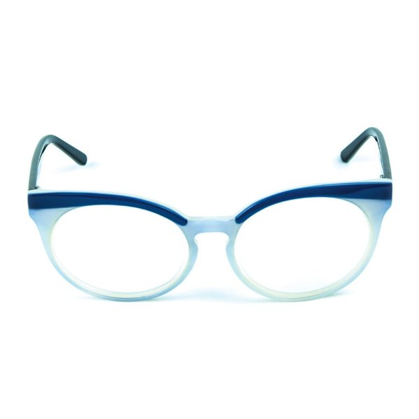 Armação para óculos de grau Zabo Viena Branco Grau