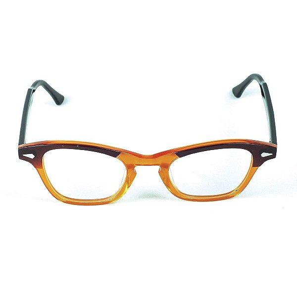 Armação para óculos de grau Lensk Milão Marrom Grau