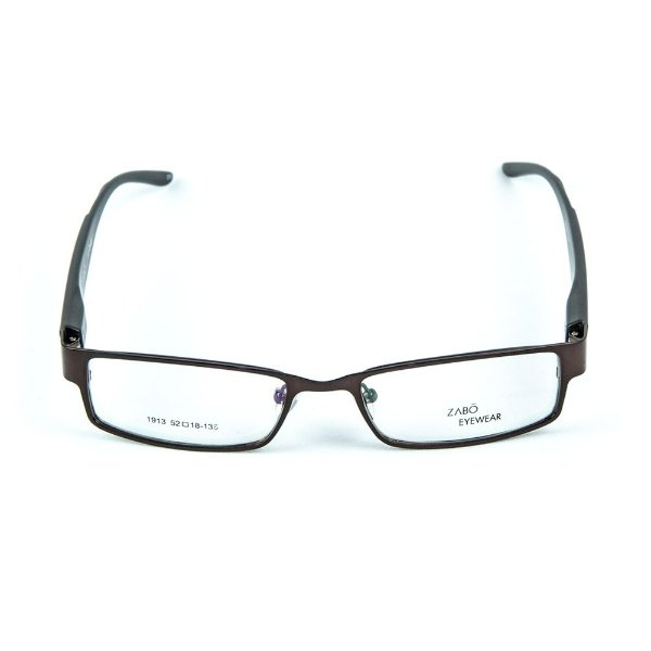 Armação para óculos de grau em metal Zabô Cuzco Marrom