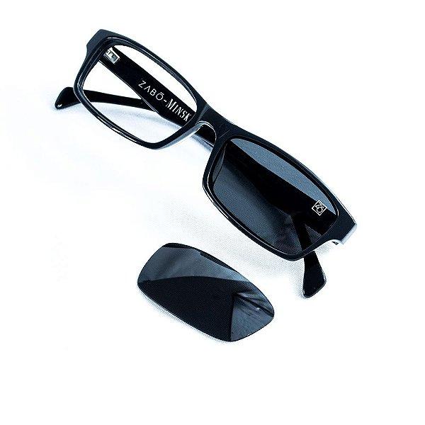 Lente para óculos de sol - Preto