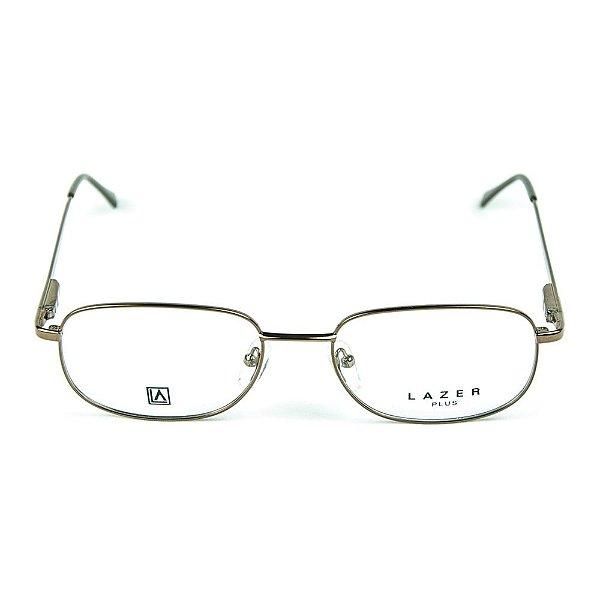 Armação para óculos de grau em Metal L.A. 4006 Marrom