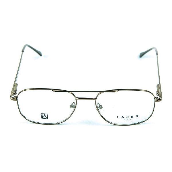 Armação para óculos de grau em Metal L.A. 4048 Marrom