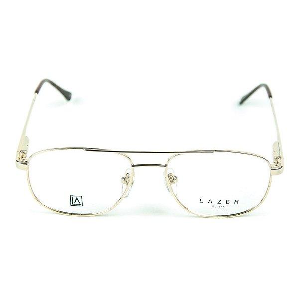 Armação para óculos de grau em Metal L.A.9623 Dourado