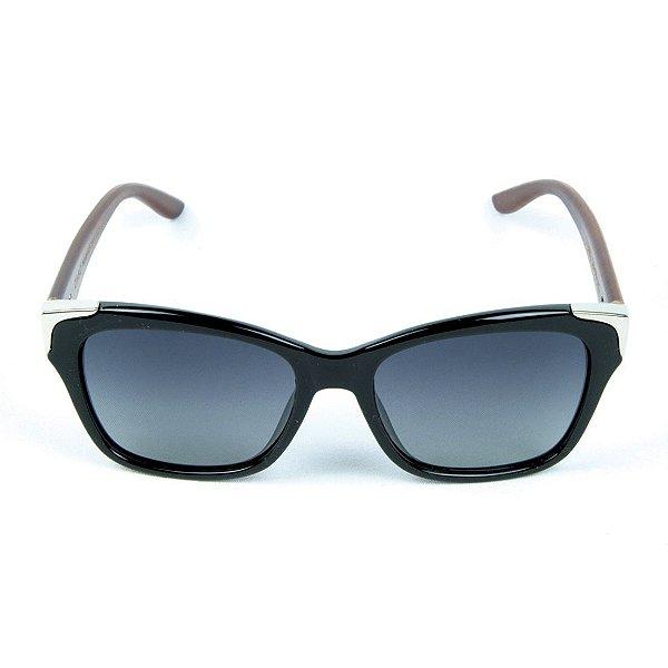 Óculos de Sol Polarizado Zabô Barcelona Preto lentes Preta