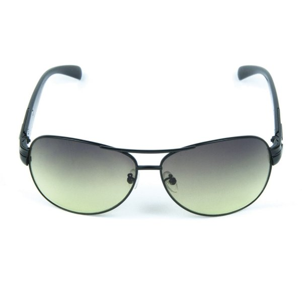 Óculos de Sol com Anti Reflexo em Metal Zabô Dublin Preto