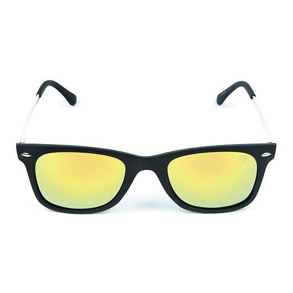 Óculos de Sol Espelhado Zabô Ibiza Preto Fire