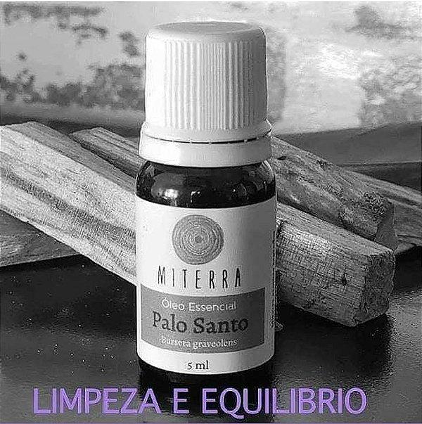 Oleo essencial de Palo santo Orgânico  5 ml