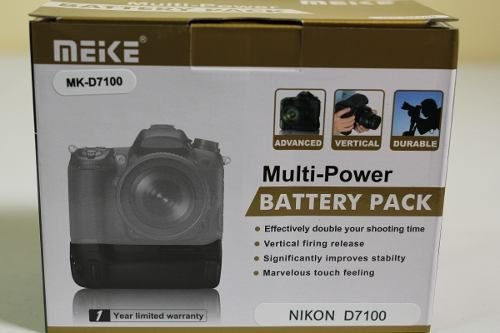 Grip de Baterias Meike para Nikon D7100 e D7200