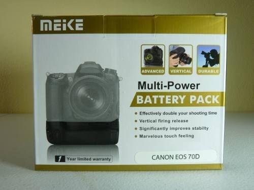 Grip  de Baterias Meike para Canon Eos 70d