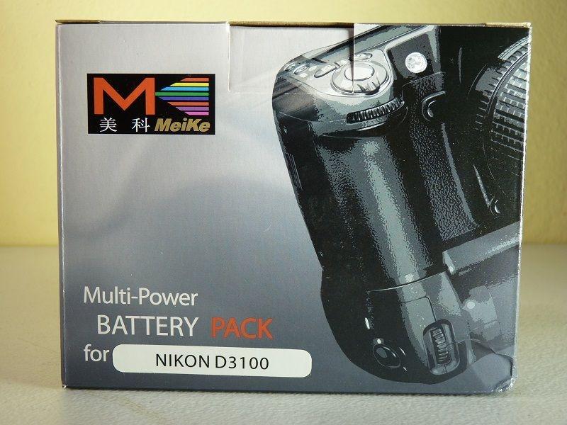 Grip de Baterias Meike para Nikon D3100 D3200 D3300