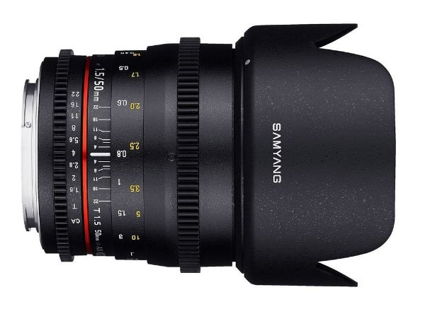 Lente Samyang 50mm Tcine T1.5