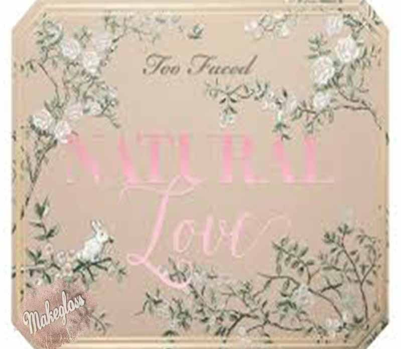 Paleta Maquiagem Too Faced Natural Love