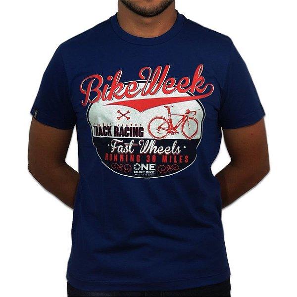 Camiseta |Bike Week|Malha Recicle