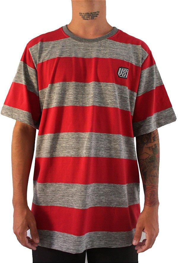 Camisa Masculina Vandalism81Red Line