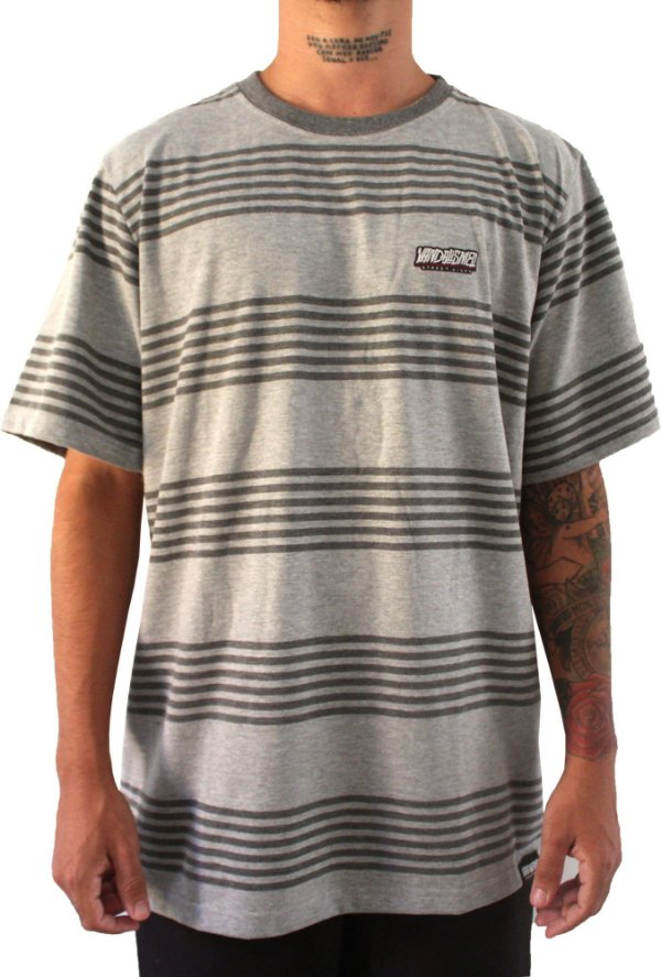 Camisa Masculina Vandalism81 Six Gray