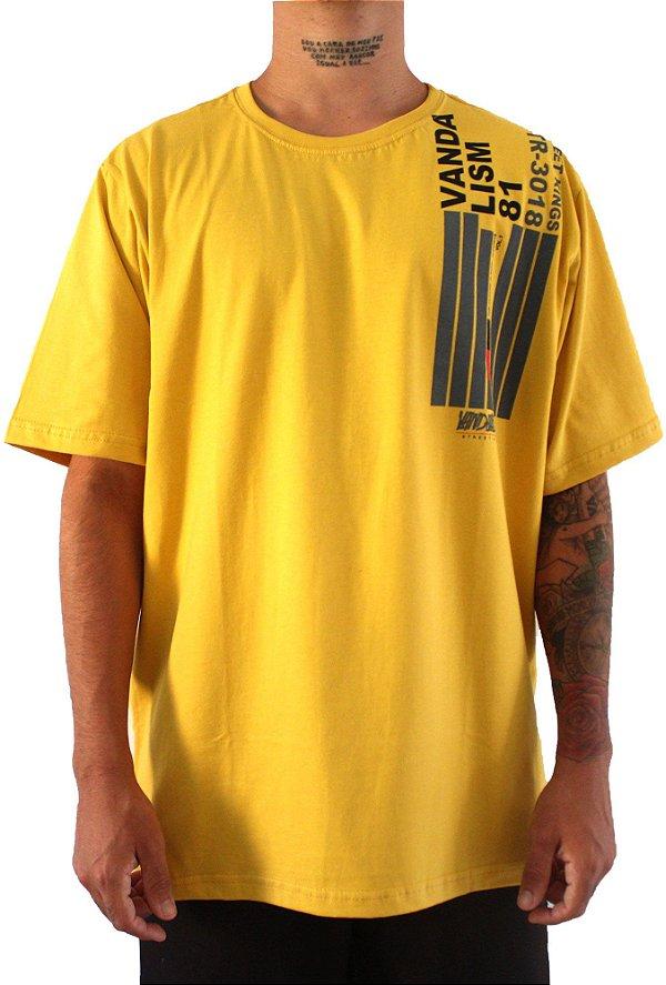 Camisa Masculina Vandalism81Capcorp Mustard