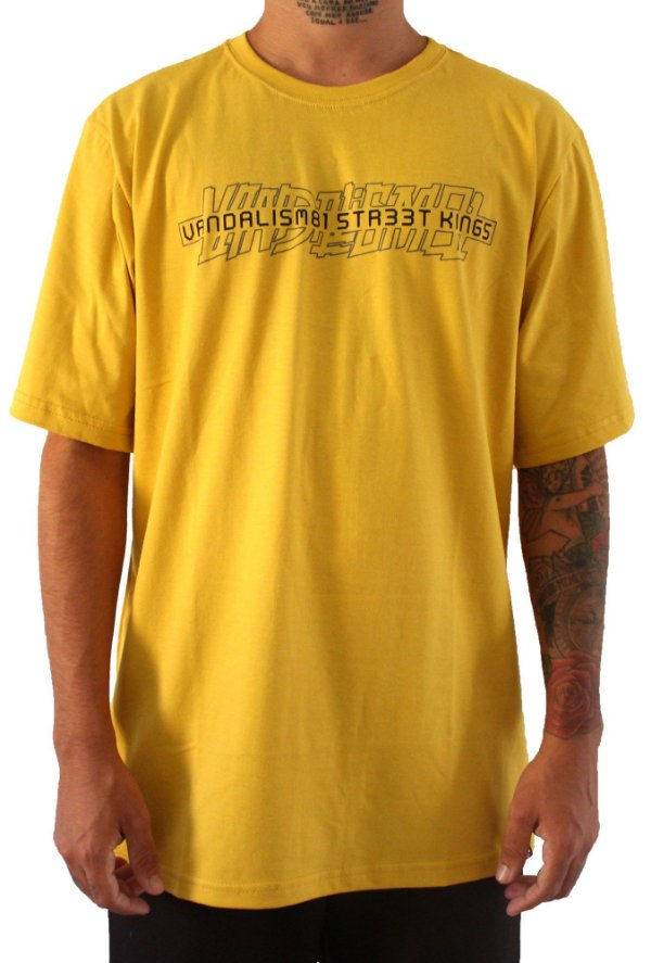 Camisa Masculina Vandalism81 Neo Mustard