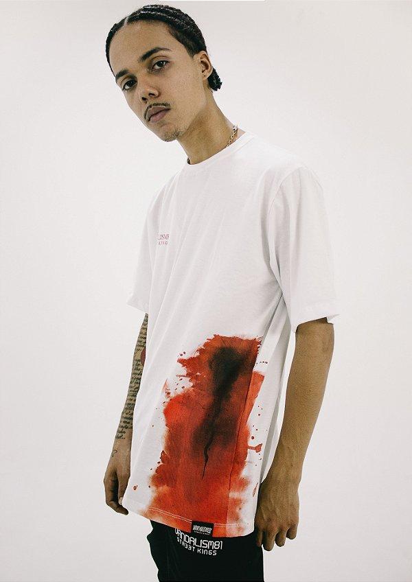 Camisa Masculina Vandalism81 Necessidades Pretas