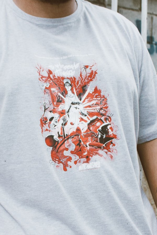 Camisa Masculina Vandalism8 Fé Mescla
