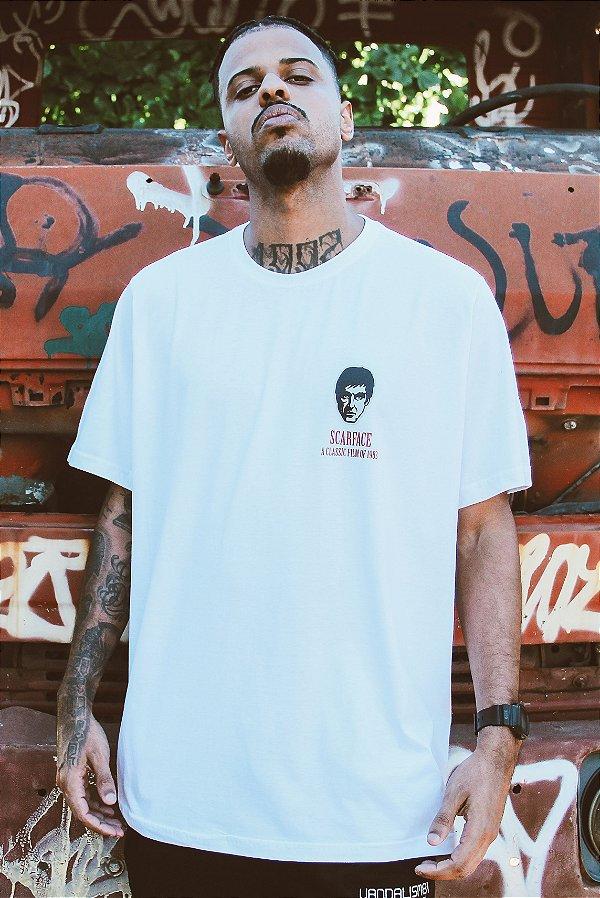 Camiseta Scarface Branca