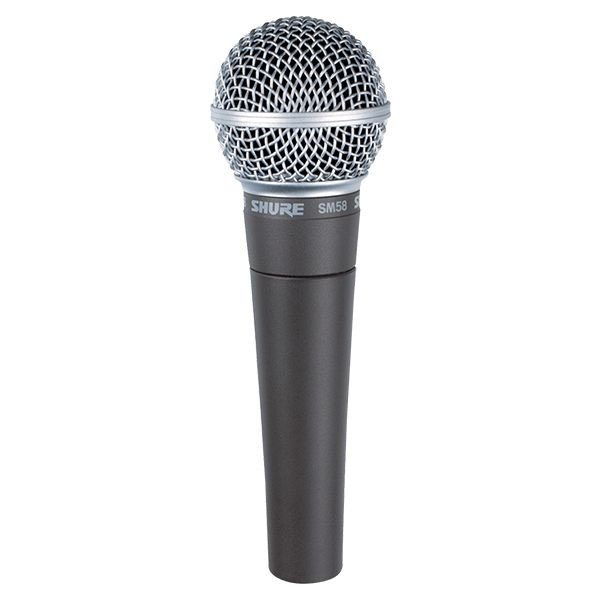 Microfone Shure SM58-LC | 2 Anos de Garantia
