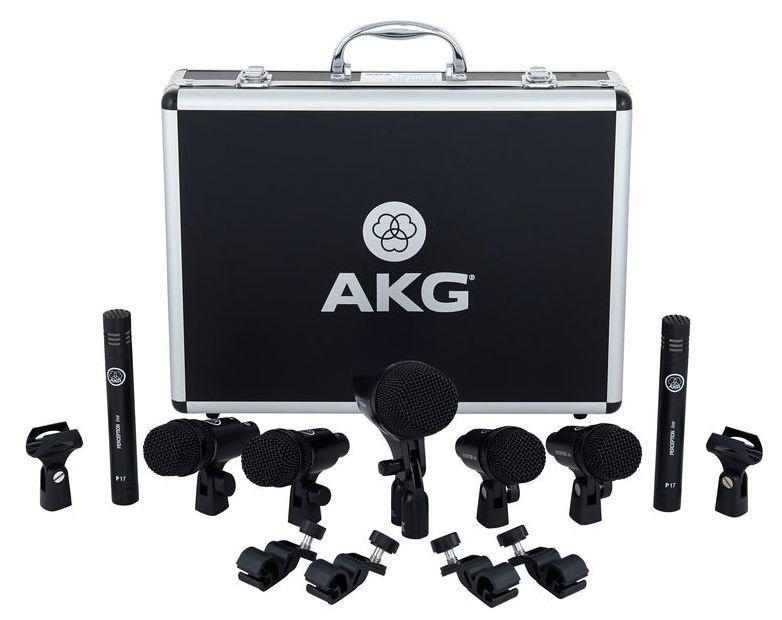 Kit De Microfones Para Bateria AKG Drum Set Session 1