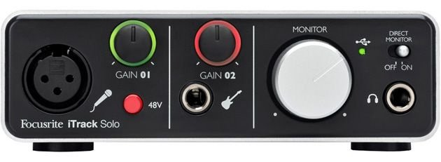 Interface de Audio Focusrite Itrack Solo