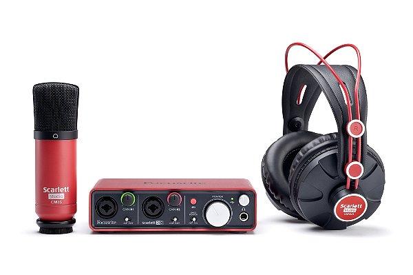 Kit de Audio Focusrite Scarlett Studio