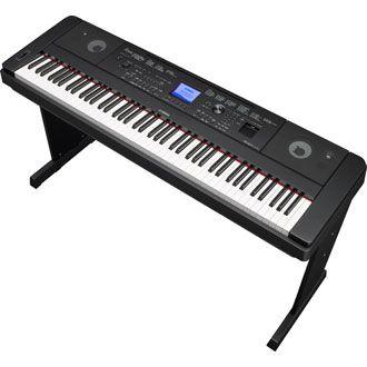 Piano Digital Yamaha DGX-660 Bk