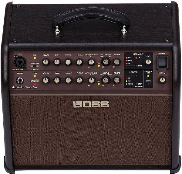 BOSS ACS Live 60W Amplificador Combo para guitarra acústica e vocais
