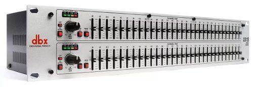 Equalizador DBX 231s