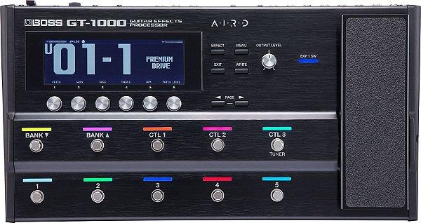 Pedaleira Boss GT-1000