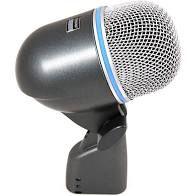 Microfone Shure - Microfone Dinâmico Para Bumbo Beta 52A
