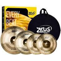 "Kit Prato Zeus Hybrid B20 Set C |Hi Hat 14"" | Crash 16"" | Ride 20"""