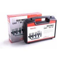 Kit Microfone Superlux Drk B5C2 MkII Giant 7 Mic Set