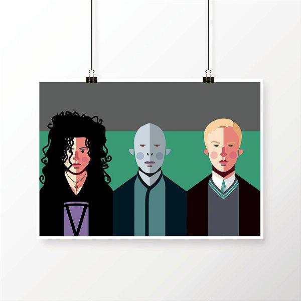 [poster] Os 3 Comensais - Harry Potter