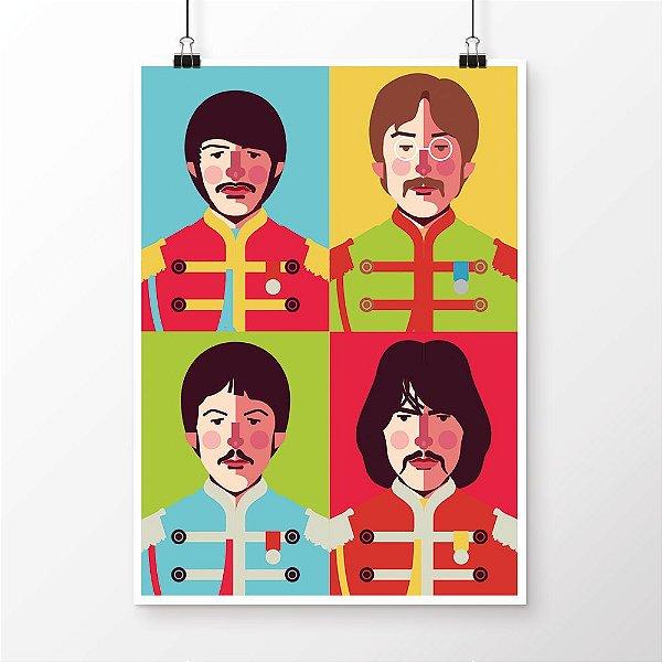 [poster] Sgt. Pepper's - Beatles