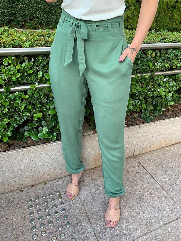 Calça Comfort Raquel Verde