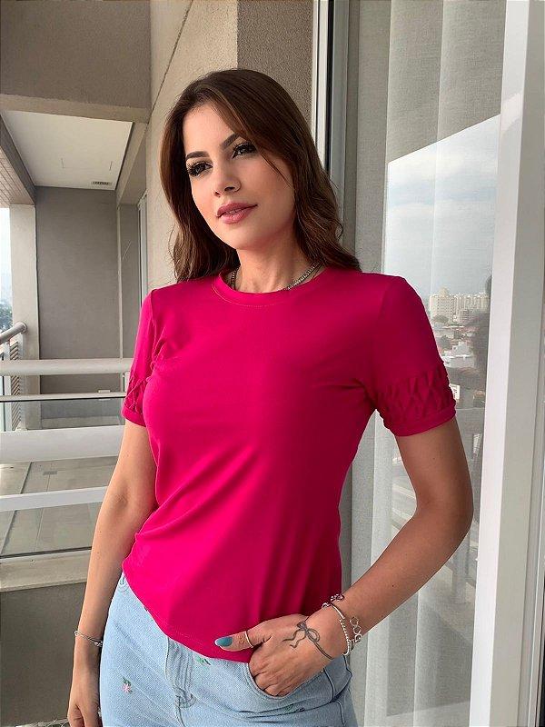 T-shirt Fiorela Pink