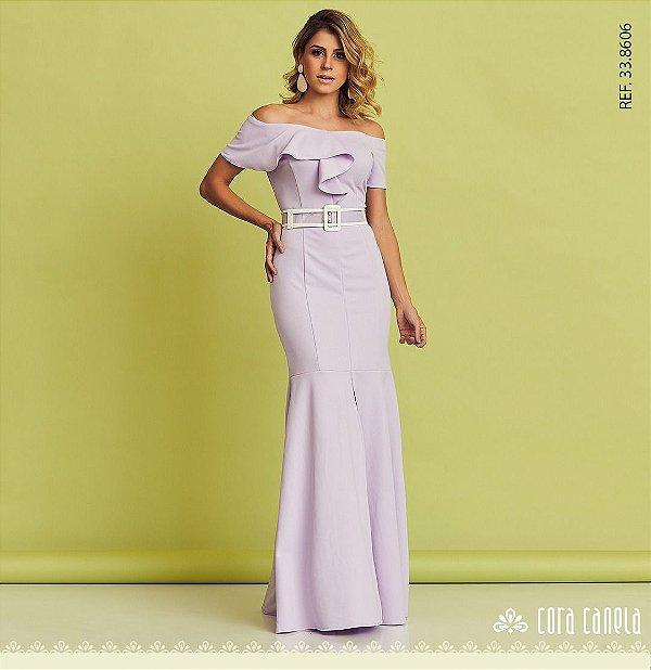 Vestido Longo Ana Clara