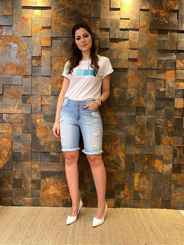 Bermuda Jeans Patrícia
