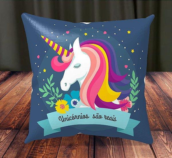 Almofada Personalizada para Festa Unicornio 12