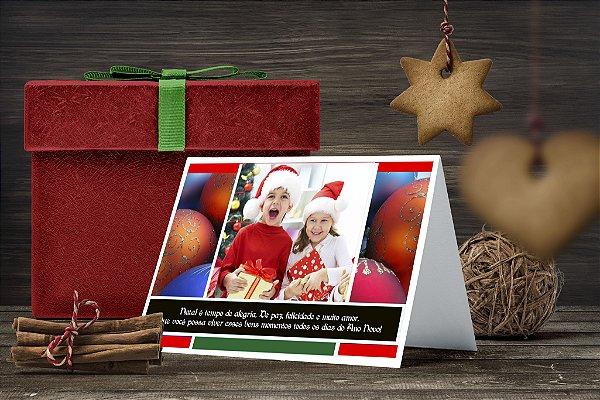 Cartão de Natal Personalizado Impresso 020