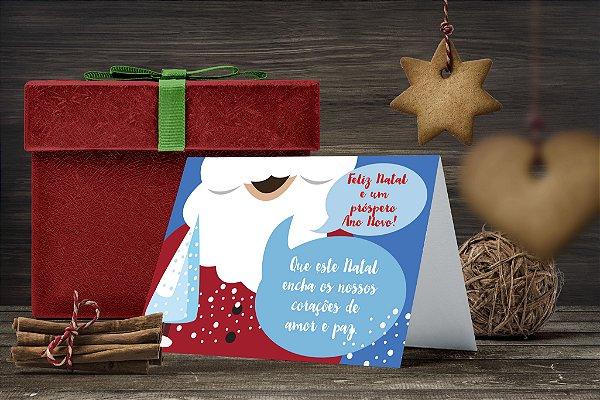 Cartão de Natal Personalizado Impresso 065