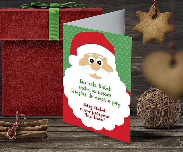 Cartão de Natal Personalizado Impresso 066
