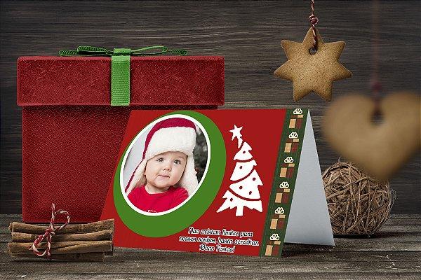 Cartão de Natal Personalizado Impresso 158