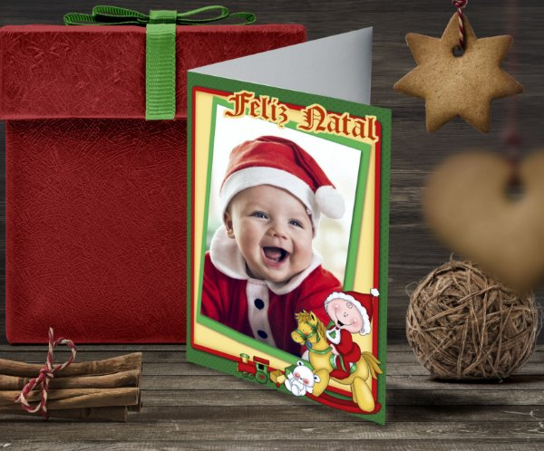 Cartão de Natal Personalizado Impresso 152